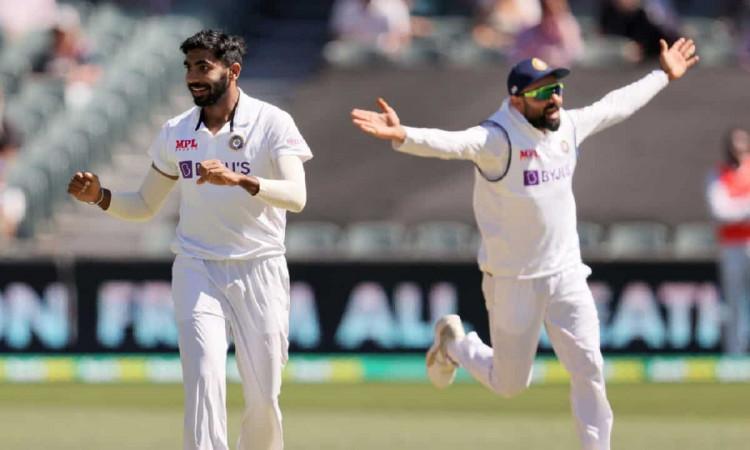 एडिलेड टेस्ट: जसप्रीत बुमराह ने ऑस्ट्रेलिया को दिया डबल झटका, 35 रनों पर दोनों ओपनर लौटे पवेलियन