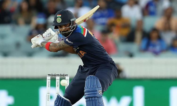 KL Rahul became the sixth Indian batsman to score 1500 T20 International runs