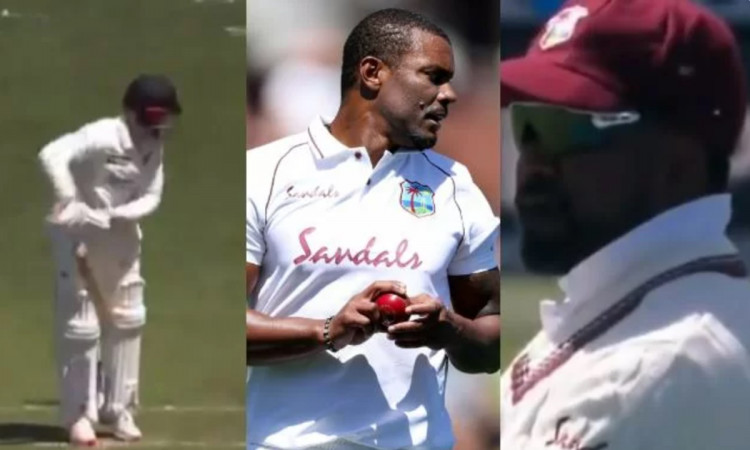 NZ VS WI Darren Bravo drops an easy catch Shannon Gabriel abused him watch video in hindi