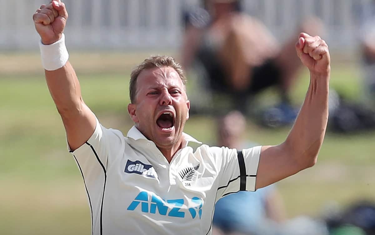 Kiwi Pacer Neil Wagner ruled out of second Test after brave show in first
