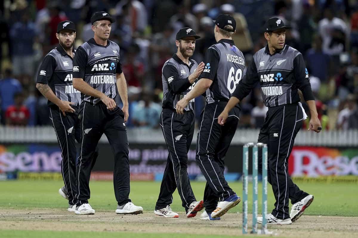 NZ vs PAK:  New Zealand announces the squad for T-20 series against Pakistan