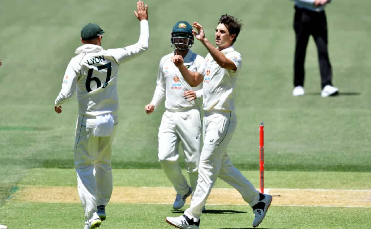 india all our for 244 runs in first test against australia