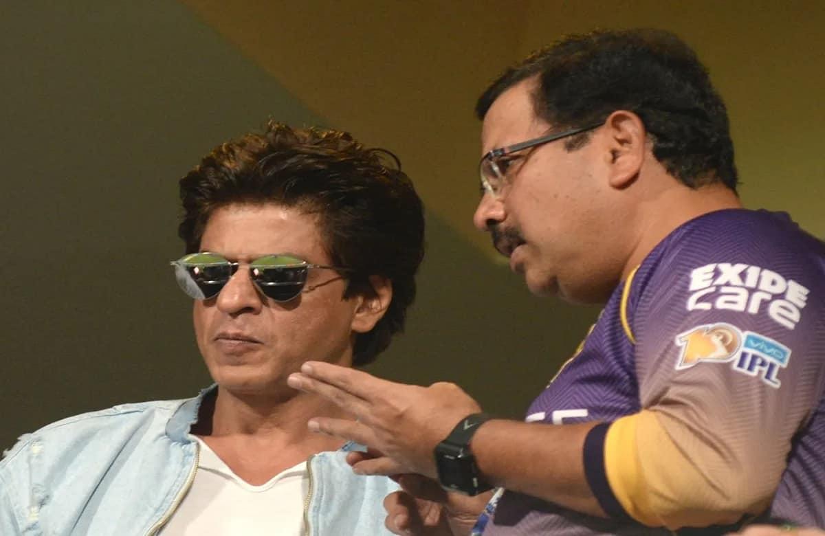 Shahrukh Khan with Venky Mysore