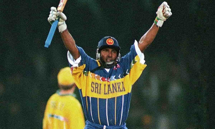 Image of Sri Lankan Batsman Aravinda de Silva