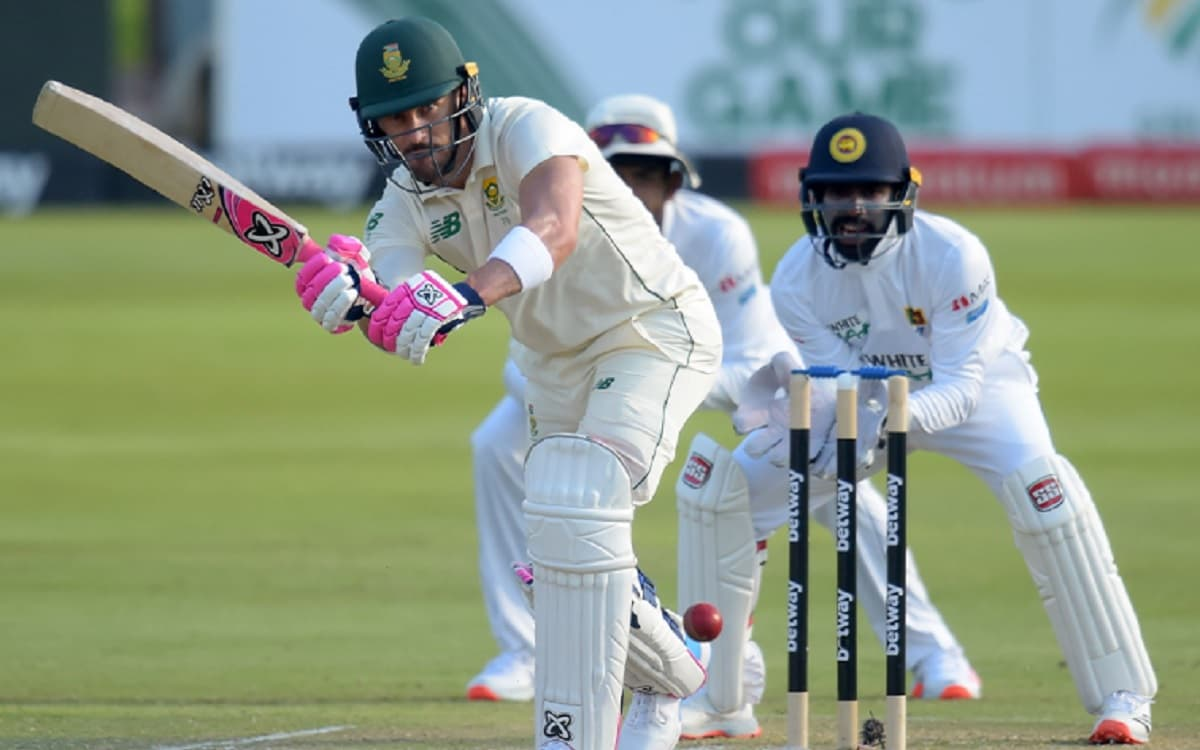 Dean Elgar, Aiden Markram and Faf Du Plessis power South Africa's strong reply