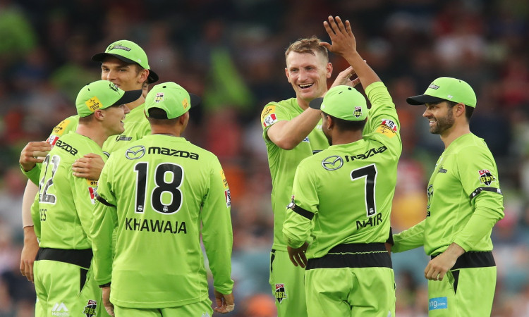 BBL 10: Sydney Thunder beat Perth Scorchers by 7 Wickets in 12th Match of BB