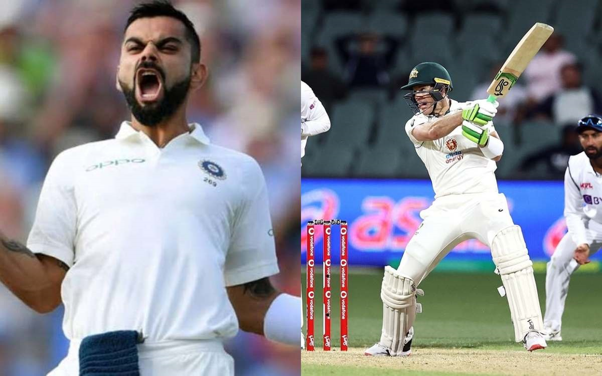 IND vs AUS: Virat Kohli and Tim Paine becomes third captains pair to score fifty in first Innings of