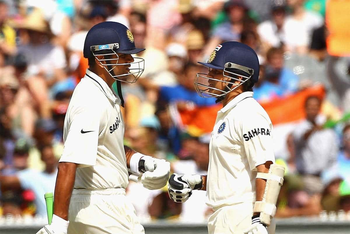 Top 5 batsmen with most runs in tests between India and Australia