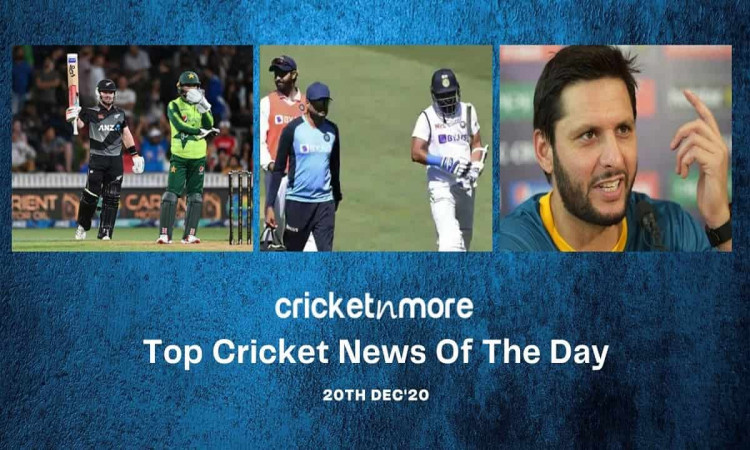 Top Cricket News Of The Day 20th Dec