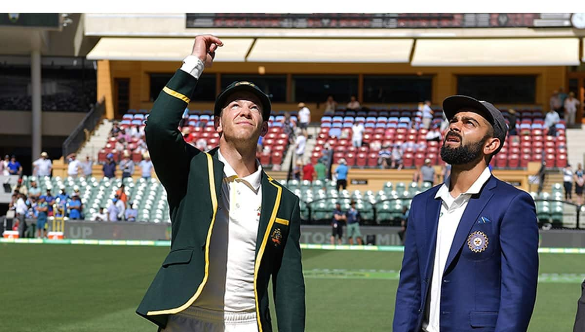 India Tour Of Australia Toss At Adelaide Test