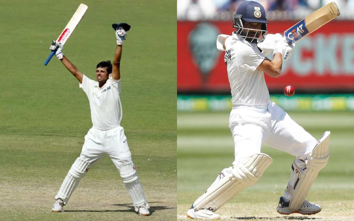 ajinkya rahane becomes first batsman after rahul dravid to hit winning runs on australian soil