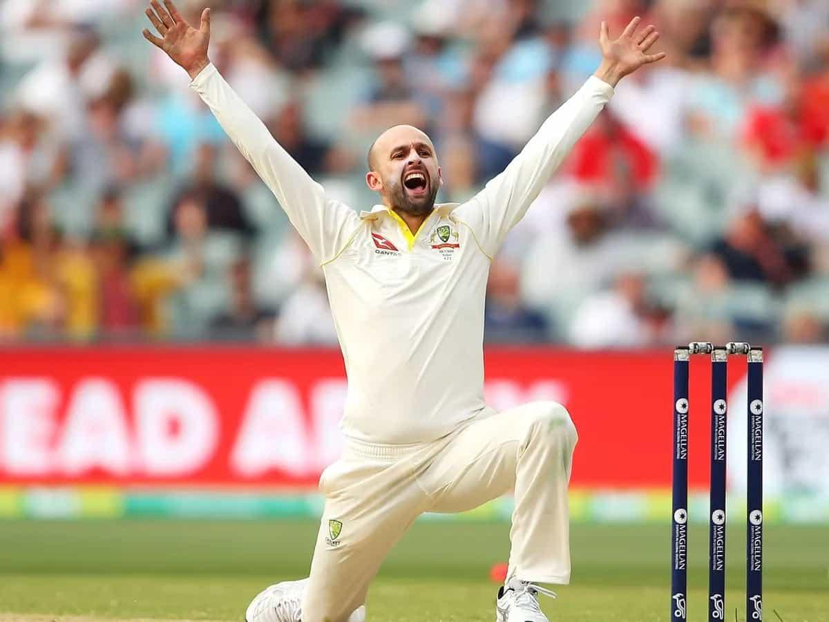 image for cricket australian spinner nathan lyon