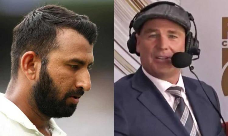 aus vs ind 1st test adelaide shane warne criticised after referring cheteshwar pujara as steve durin