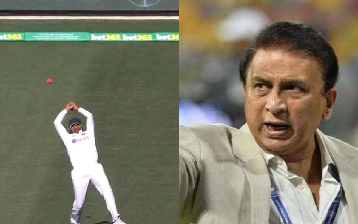 aus vs ind 1st test sunil gavaskar says indian team is in christmas mood after dropped catches