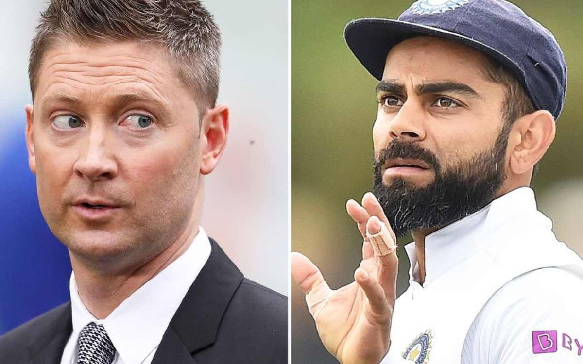 aus vs ind 1st test without virat kohli indian team is in deep trouble feels michael clark