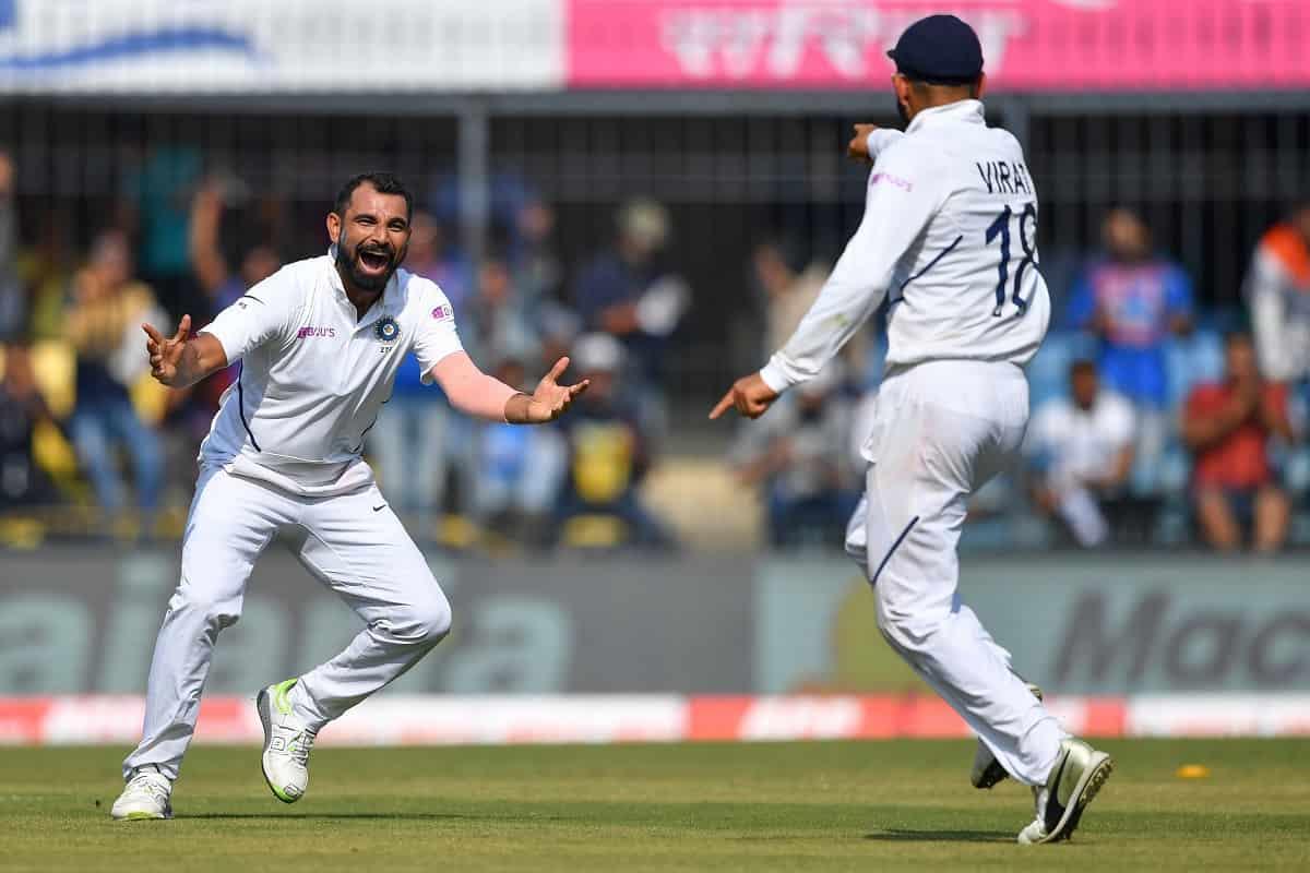 image for cricket mohammed shami and virat kohli