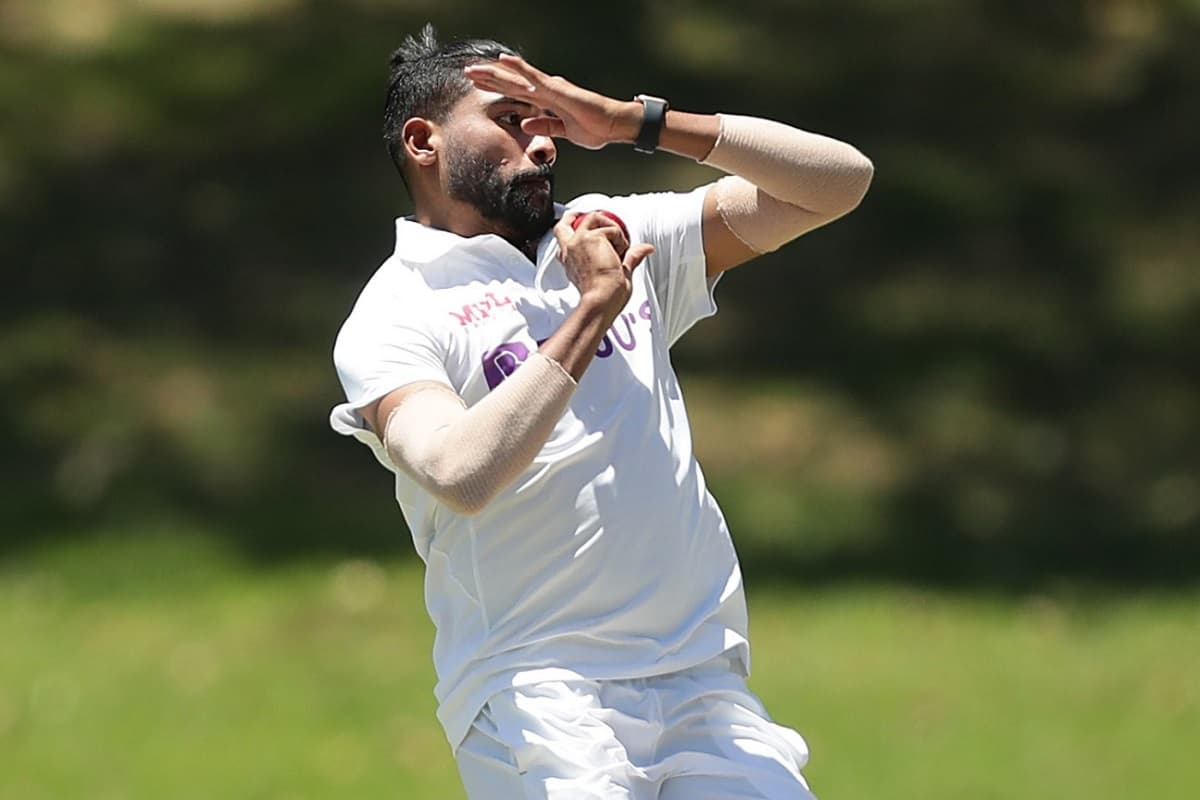 image for cricket mohammad siraj debut