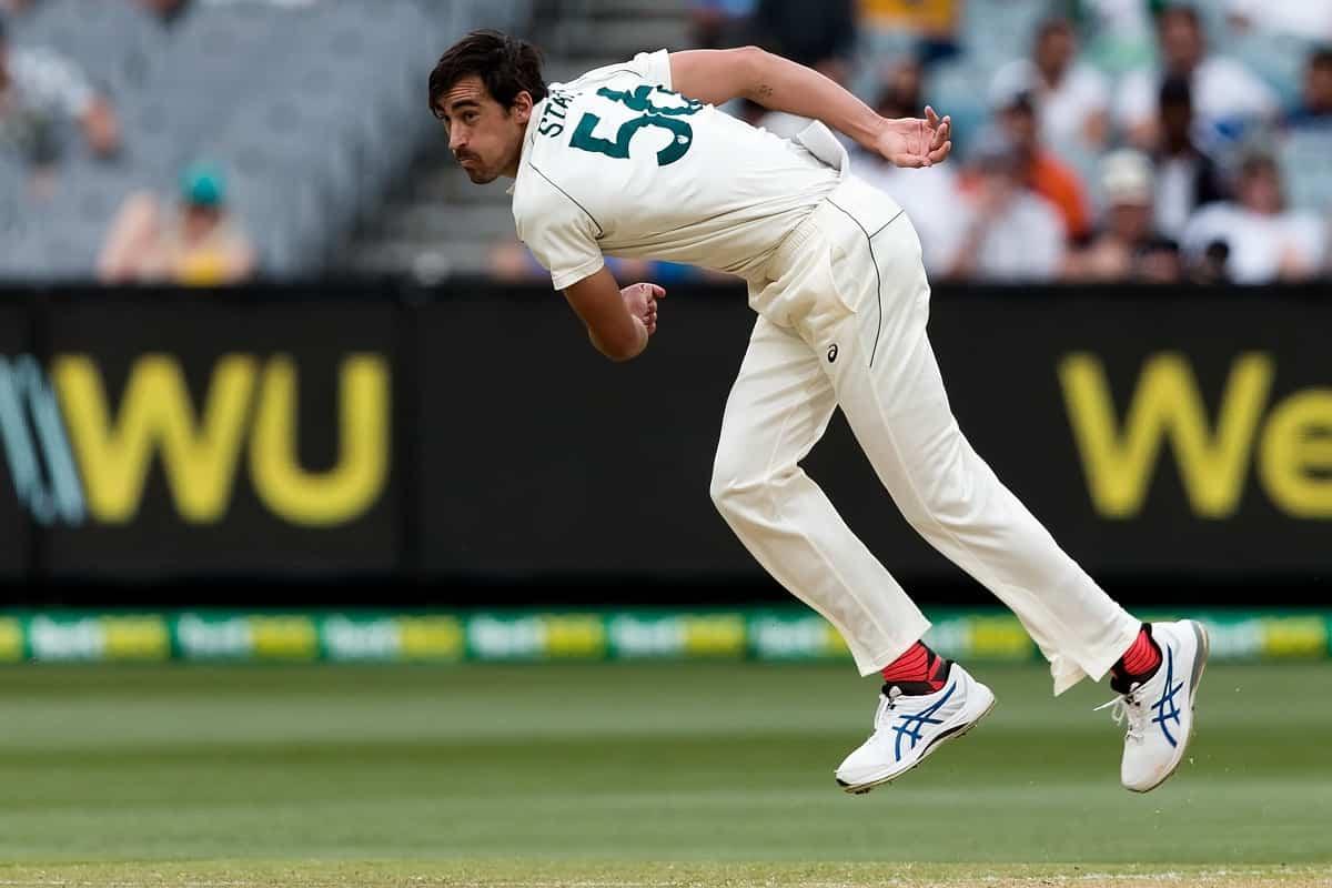 image for cricket mitchell starc on ajinkya rahane