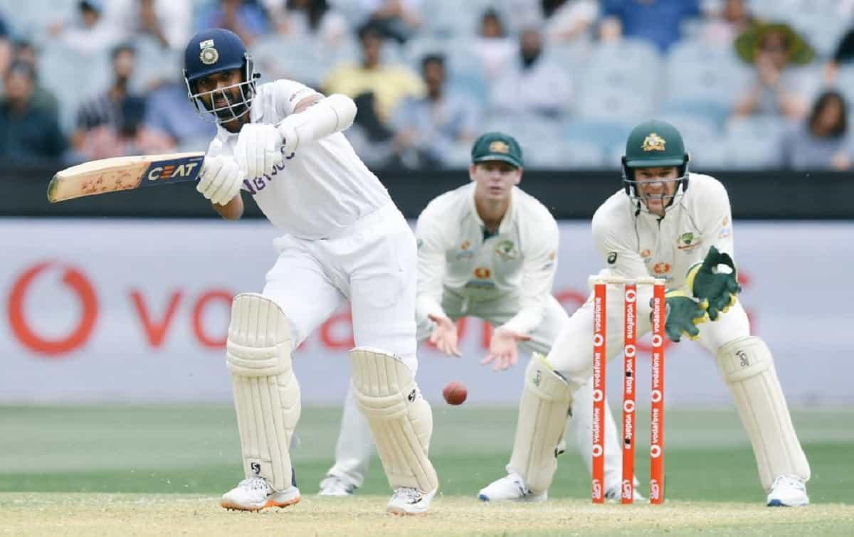 image for cricket shubman gill on ajinkya rahane