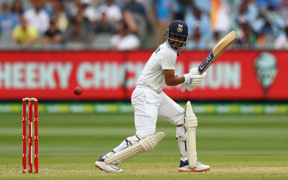 aus vs ind ajinkya rahane first visiting skipper to score a hundred in melbourne since 2004