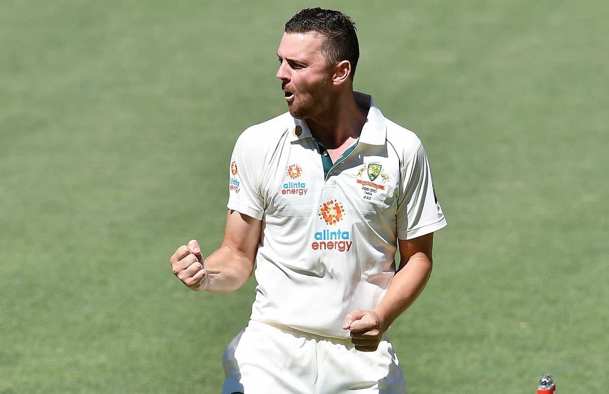 image for cricket josh hazlewood against india