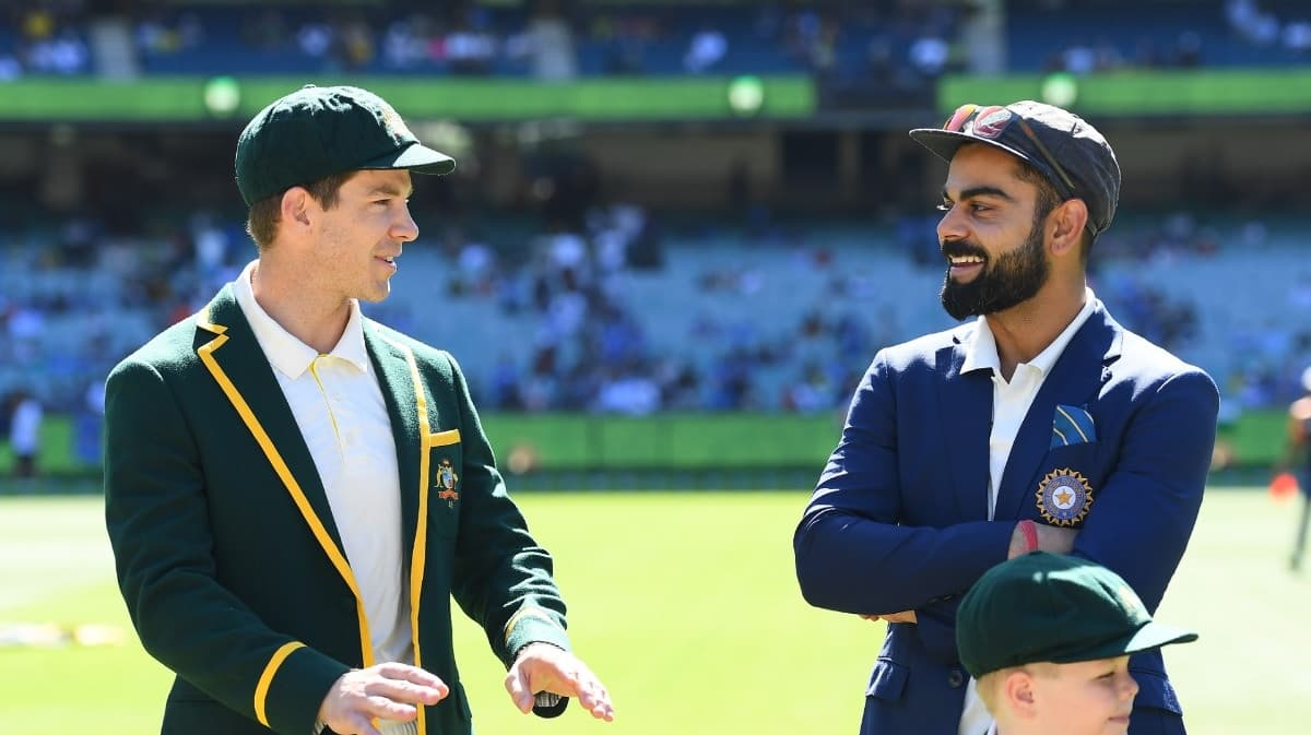 image for cricket india face australia in test series in adelaide