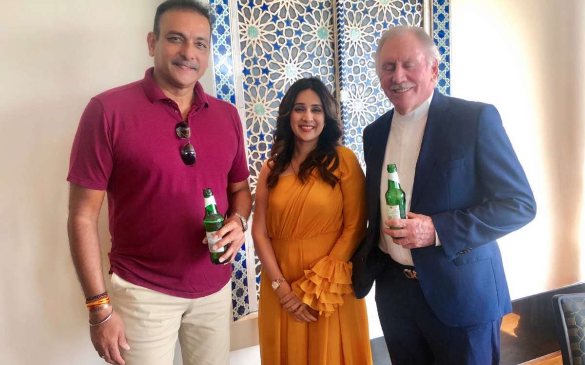 aus vs ind ian chappell revealed that ravi shastri told him while drinking that umesh yadav would be