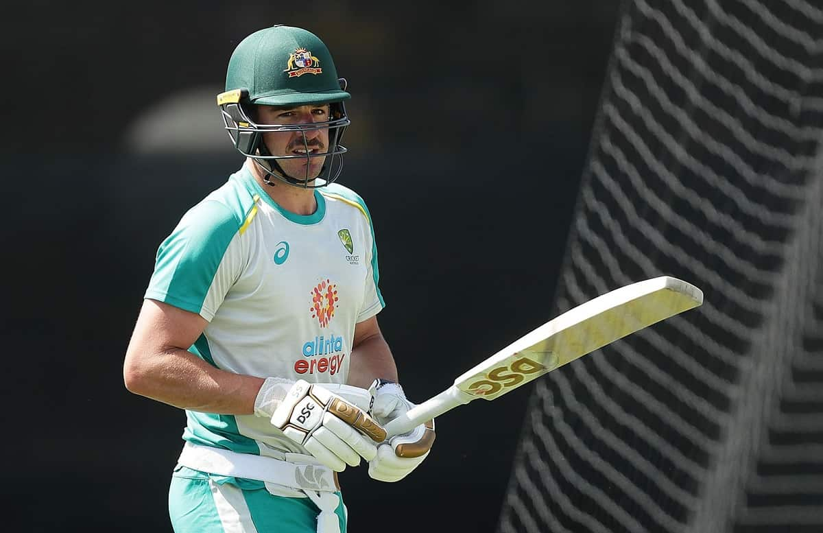 image for cricket moises henriques for the first test against india