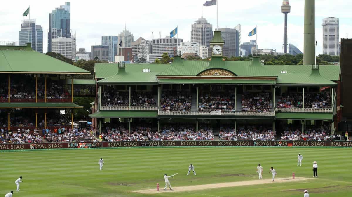image for cricket australia vs india sydney test