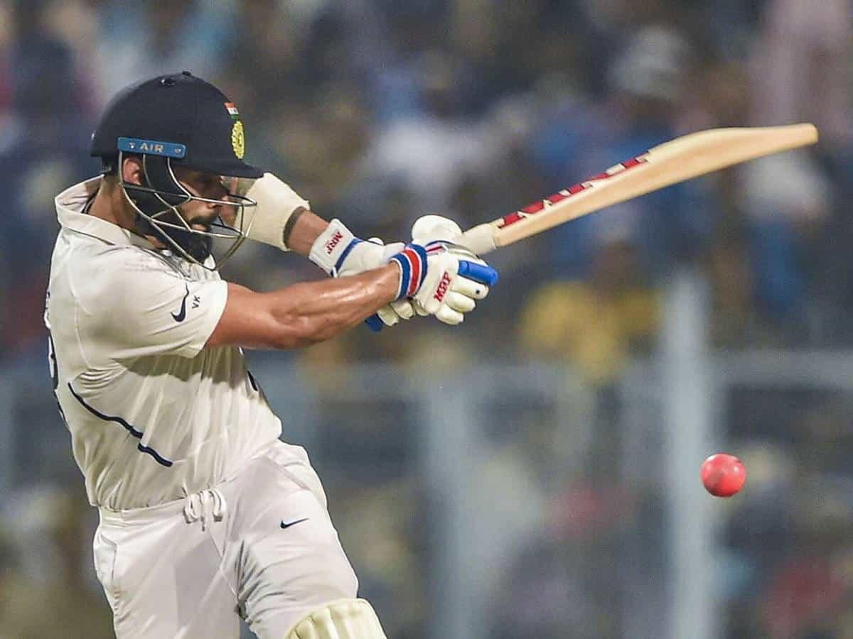 image for cricket virat kohli pink ball test
