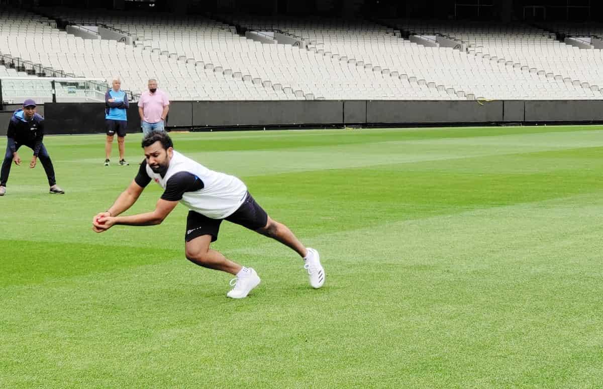 image for cricket rohit sharma begins training