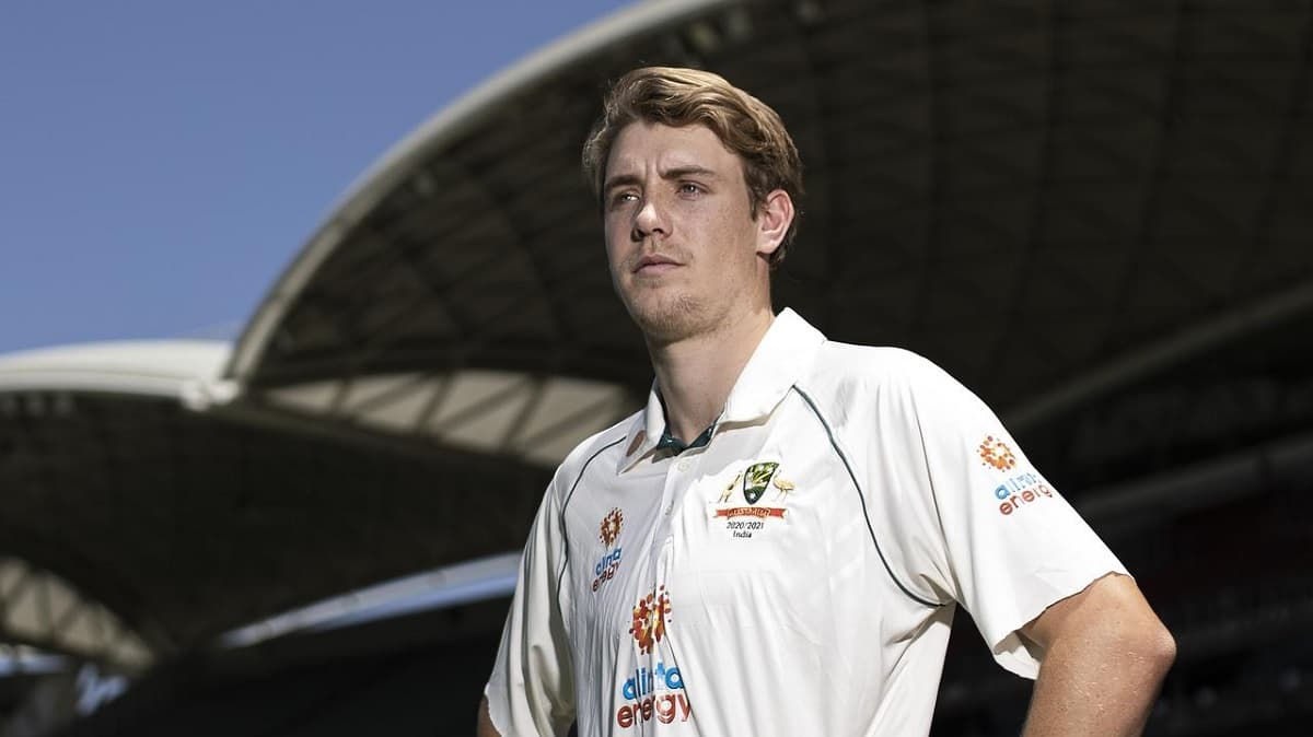 image for cricket cameron green to debut against india