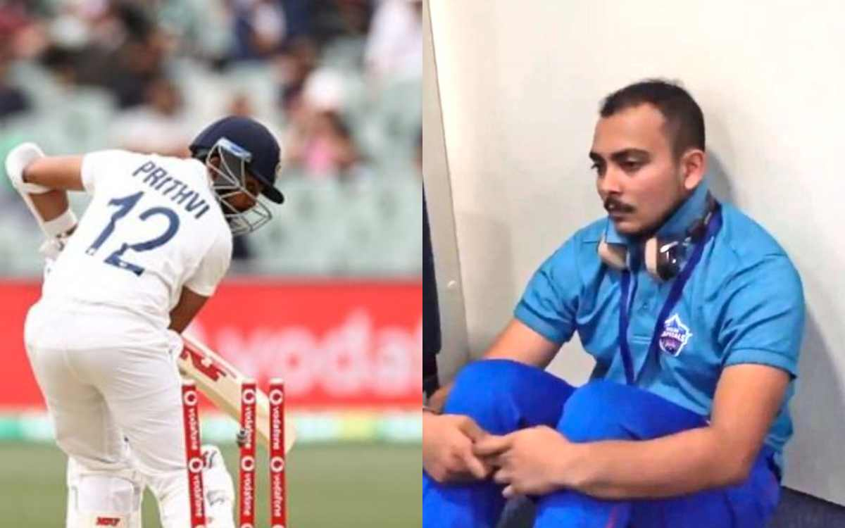australia vs india 1st test prithvi shaw flops fans are trolling via social media in hindi