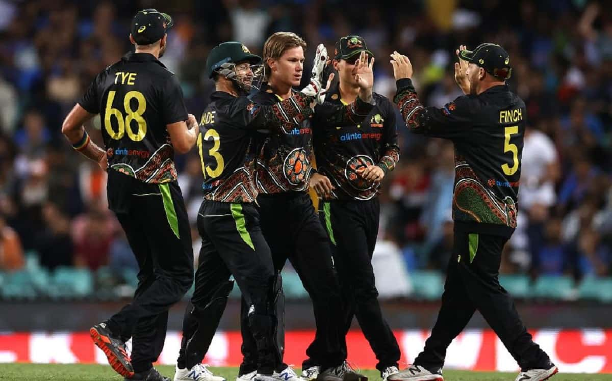 Aaron Finch Praises Adam Zampa and Mitchell Swepson For Showing a Lot of Courage With Ball