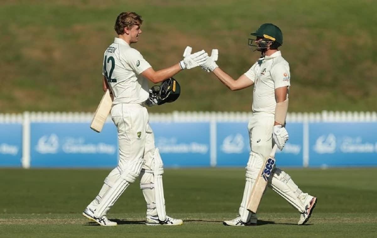Image of Australian Batsman Cameron Green