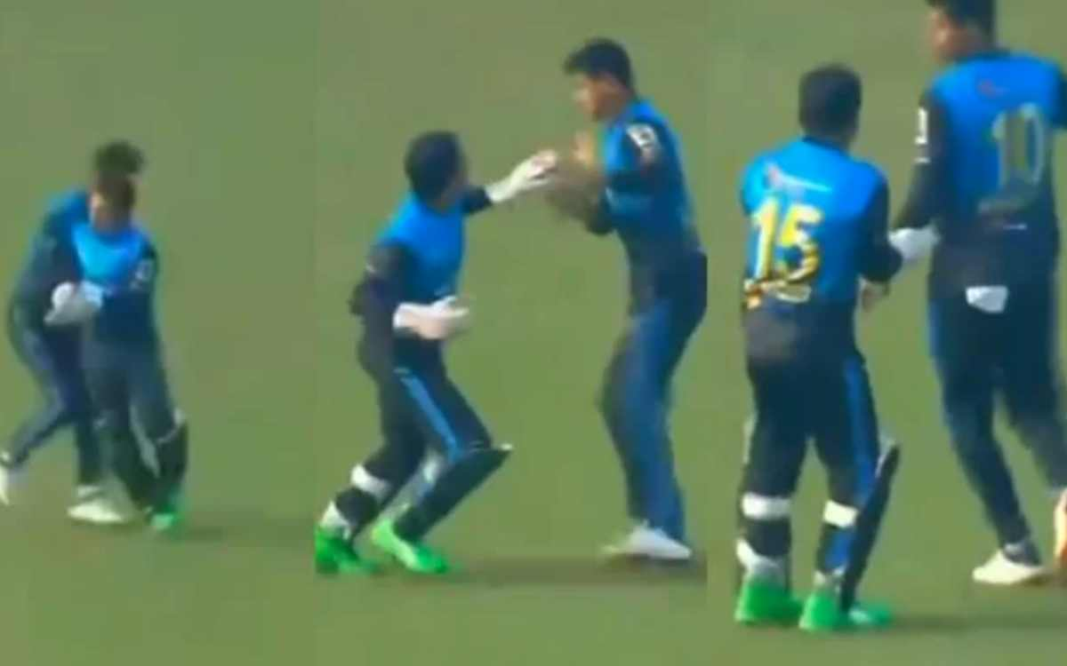 bangabandhu t20 cup mushfiqur rahim lost his cool on his team mate viral video
