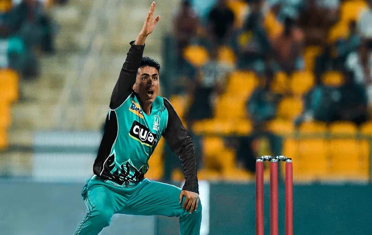 Image of Afganistan Cricketer Mujeeb Ur Rahman