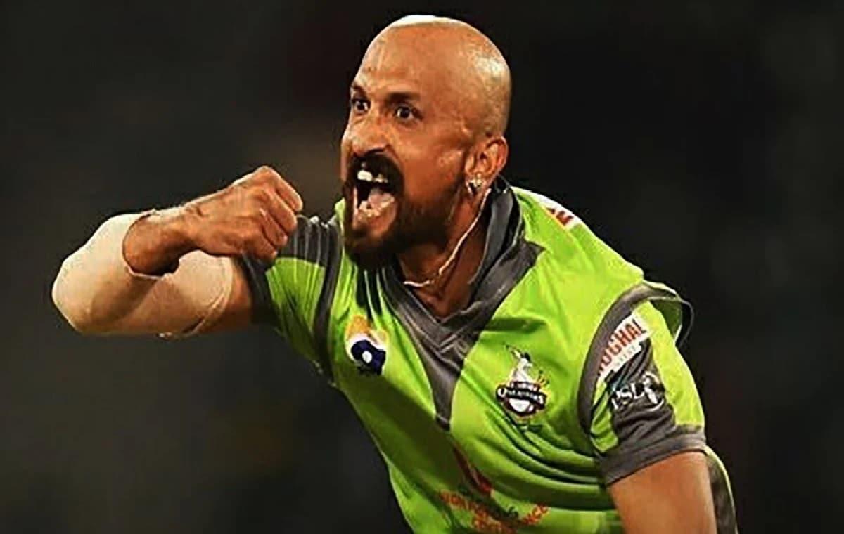 Image of Pakistani Pacer Dilbar Hussain
