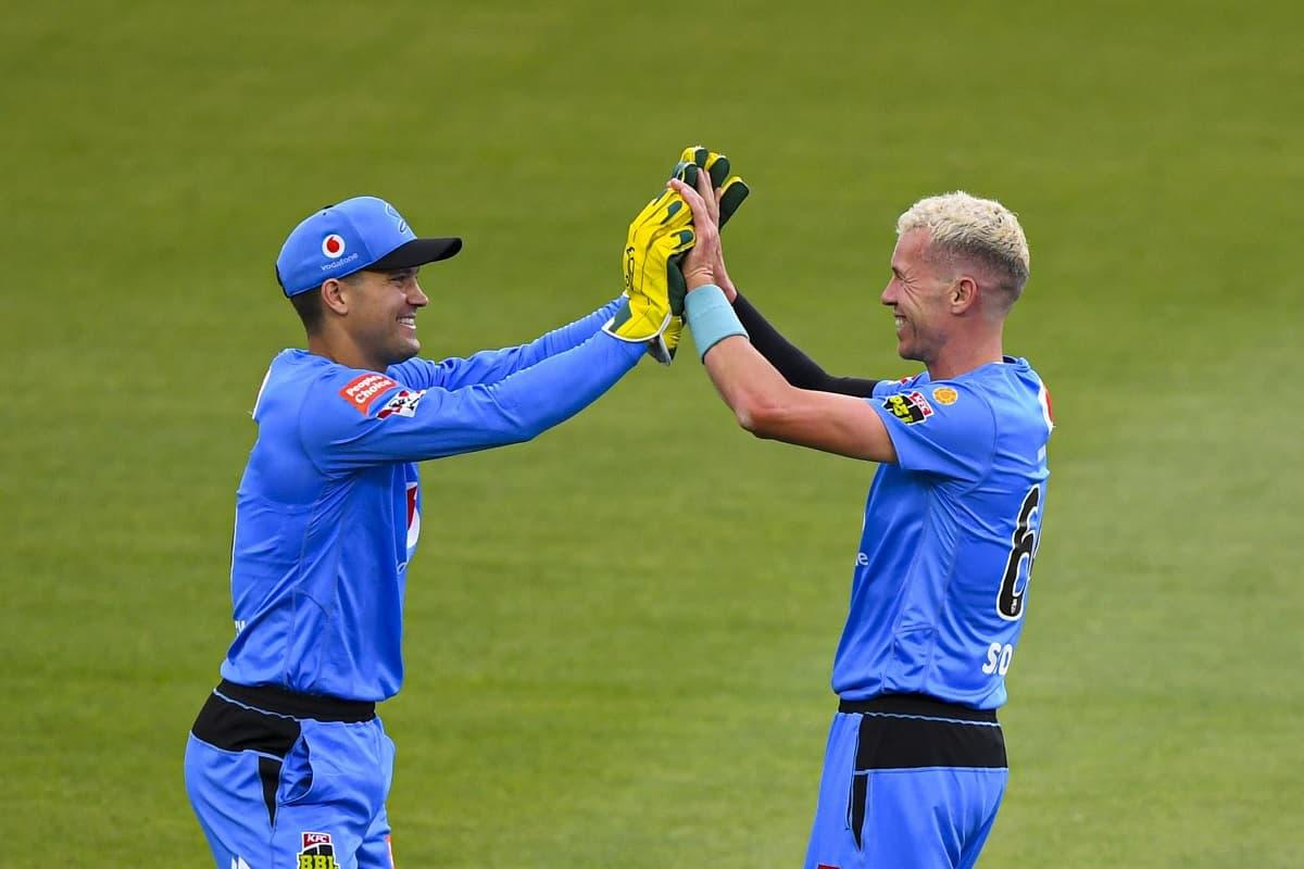 image for cricket adelaide strikers beat hobart hurricanes
