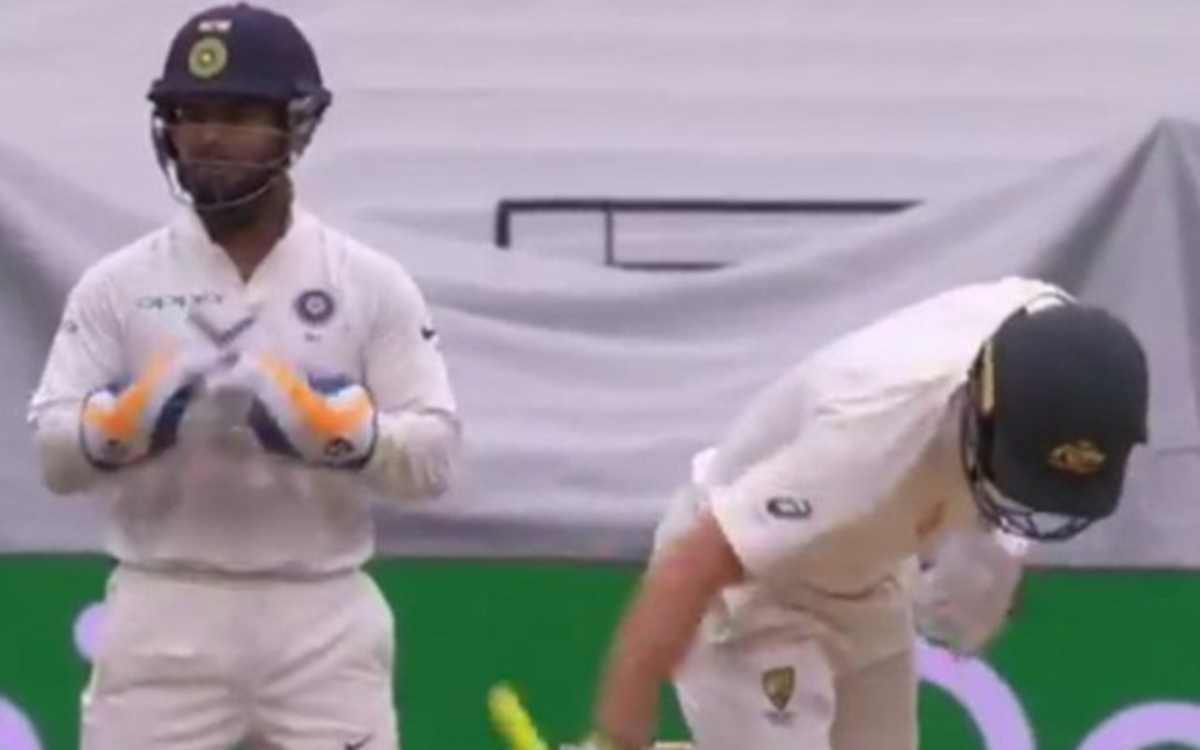 boxing day test rishabh pant knew matthew wade will hit in the air caught in stump mic