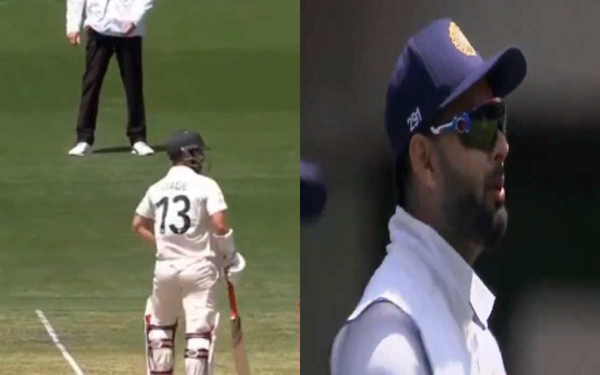 boxing day test wade pant verbals continue commentators also laughing video