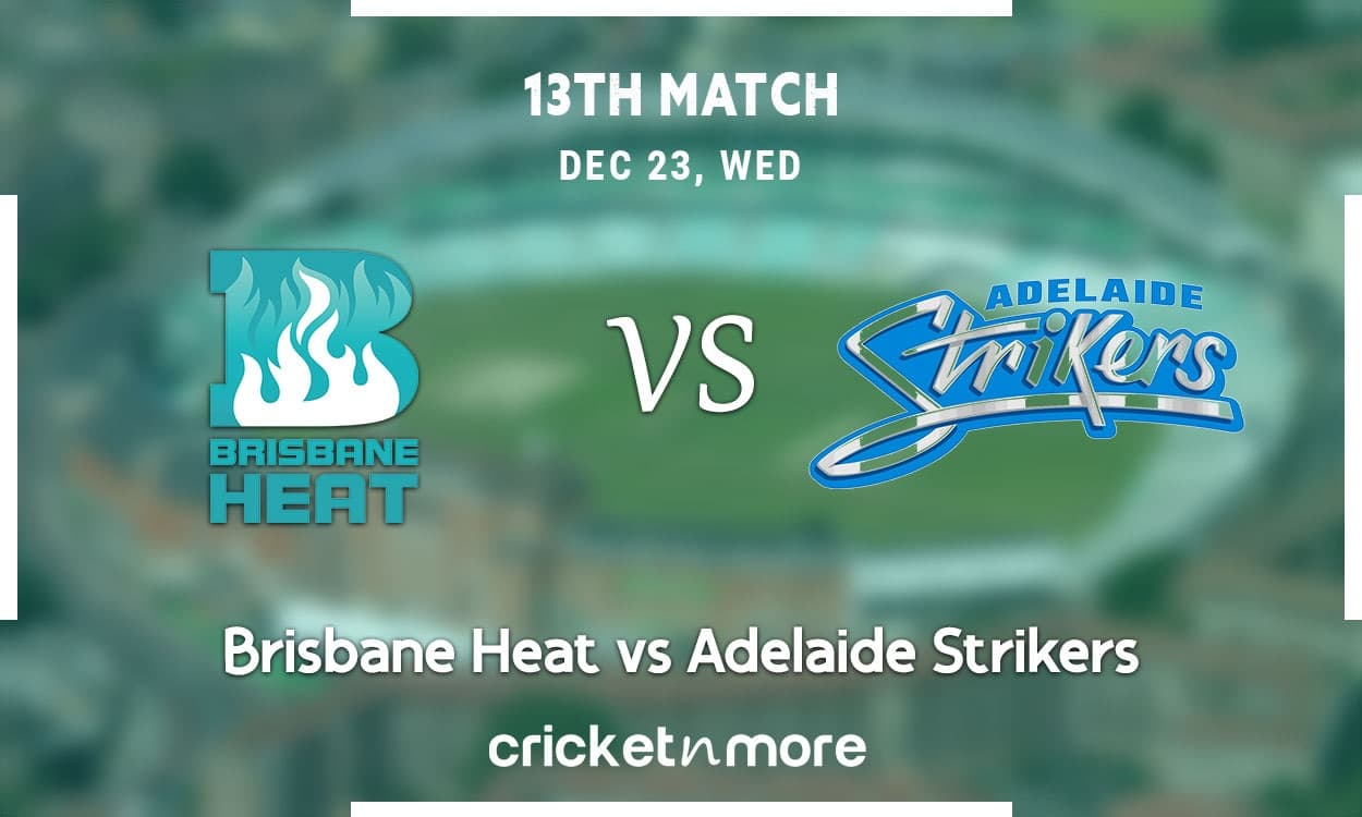 image for cricket brisbane heat vs adelaide strikers bbl 10