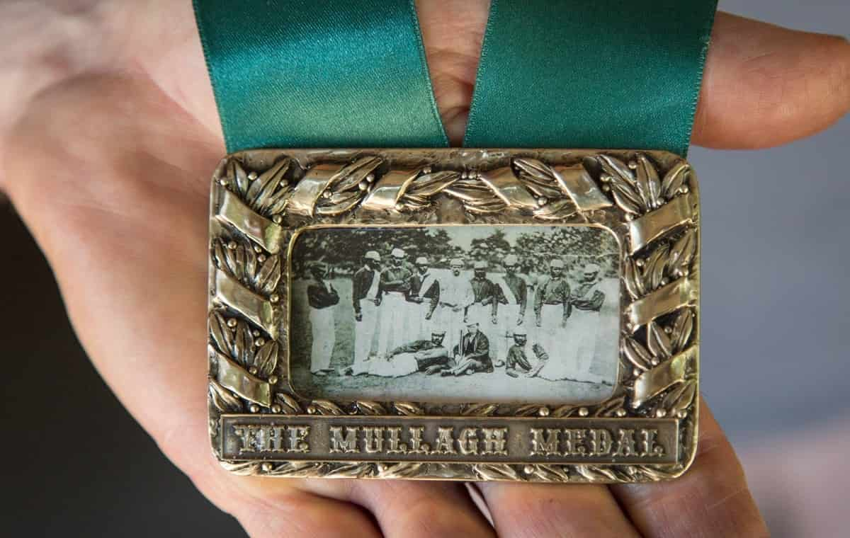 Image of Cricket Johnny Mullagh Medal
