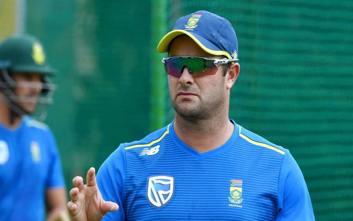 Image of Cricket South Africa Head Coach Mark Boucher