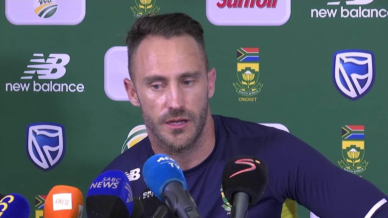 Image of Criket  Faf Du Plessis