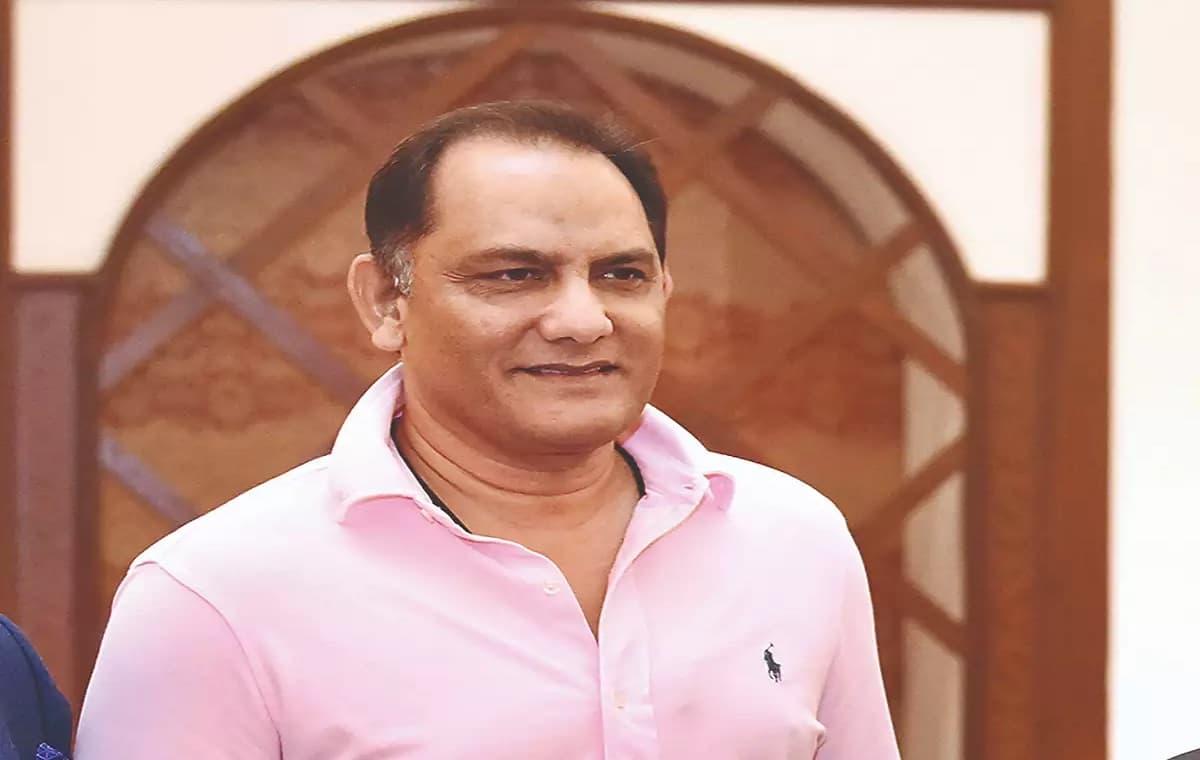 Image of Cricketer Mohammed Azharuddin