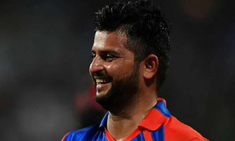 Image of Cricketer Suresh Raina
