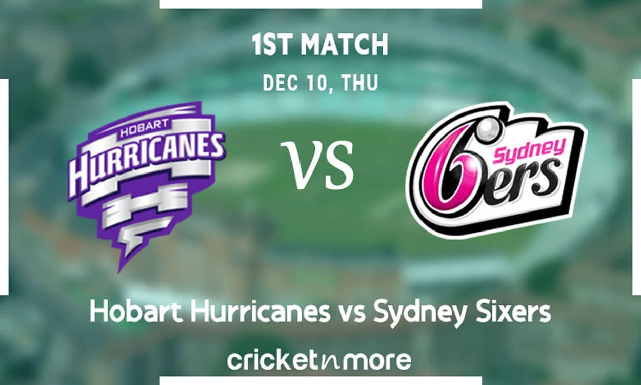 image for cricket bbl 10 hobart hurricanes vs sydney sixers