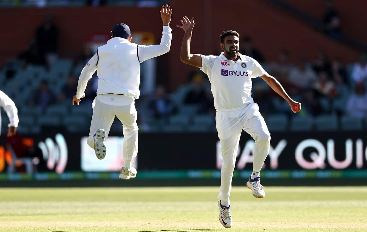 Image of Cricketer Ravichandran Ashwin