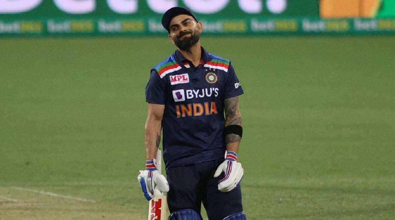 Image of Indian Team Captain Virat Kohli